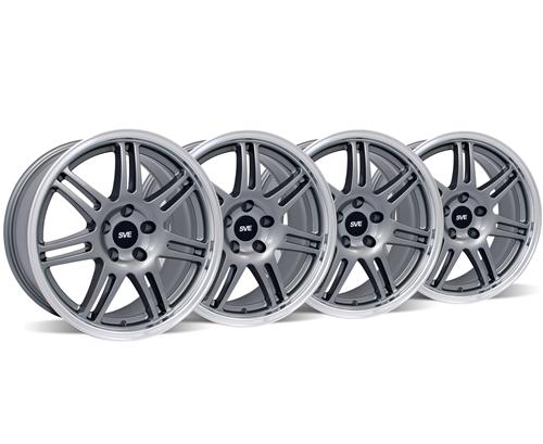 SVE Mustang Anniversary Wheel Kit - 18X9 Anthracite (05-14)