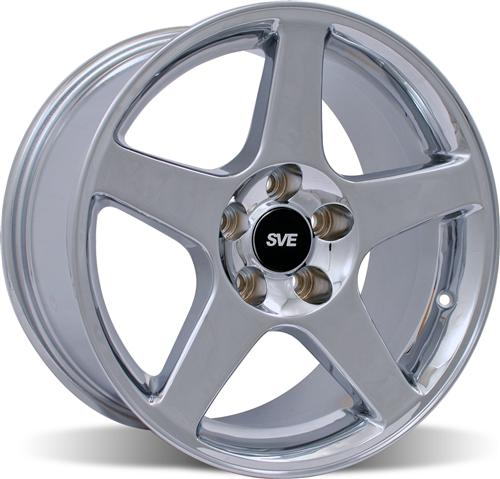 Mustang 03 Cobra Wheel - 17X10.5 Chrome (94-04)