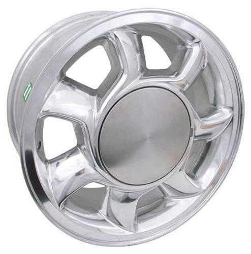 Mustang 5 Lug 93 Cobra Wheel RH - 17x8.5 Chrome (87-93) - Mustang 5 Lug 93 Cobra Wheel RH - 17x8.5 Chrome (87-93)
