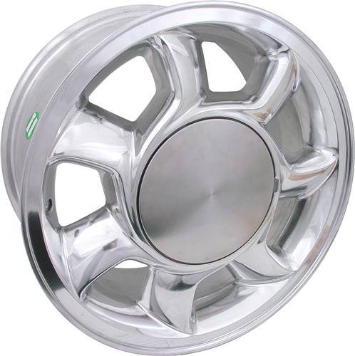 Mustang 93 Cobra Wheel RH - 17X8.5 Chrome (79-93)