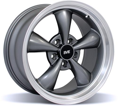 Mustang Bullitt Wheel - 17X9 Anthracite (99-04)