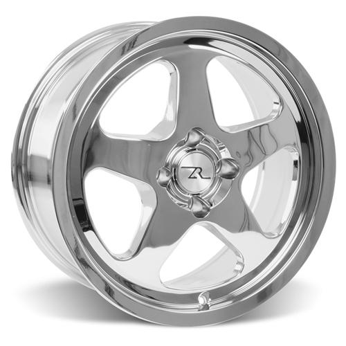 Mustang SC Wheel - 17X8 Chrome (79-93)