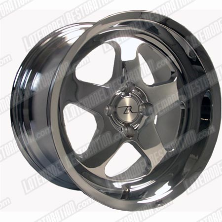 Mustang Deep Dish SC Wheel - 17X10 Chrome (79-93)
