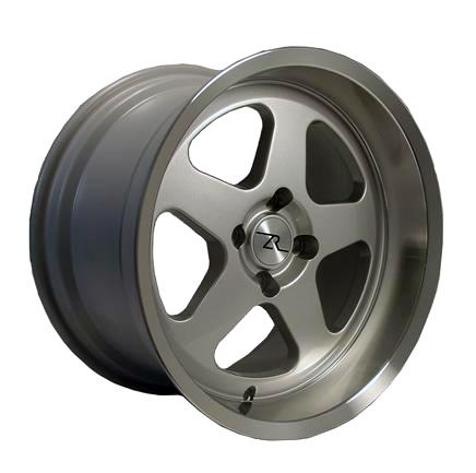 Mustang Deep Dish SC Wheel - 17X10 Silver (79-93) - Picture of Mustang Deep Dish SC Wheel - 17X10 Silver (79-93)