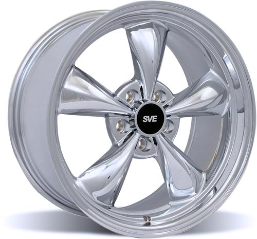 Mustang Bullitt Wheel - 18X9 Chrome (94-04)