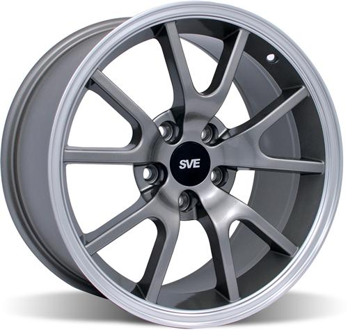 Mustang Fr500 Wheel - 17X9 Anthracite (94-04)