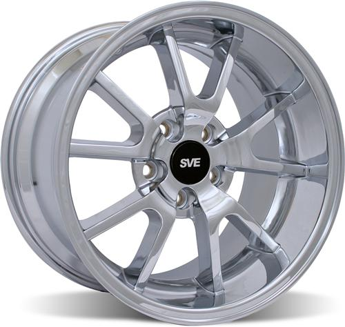 Mustang Deep Dish Fr500 Wheel - 18X10 Chrome (94-04)