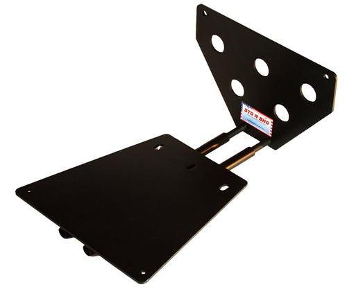 2010-12 Mustang Shelby GT500 Detachable License Plate Bracket - Picture of 2010-12 Mustang Shelby GT500 Detachable License Plate Bracket