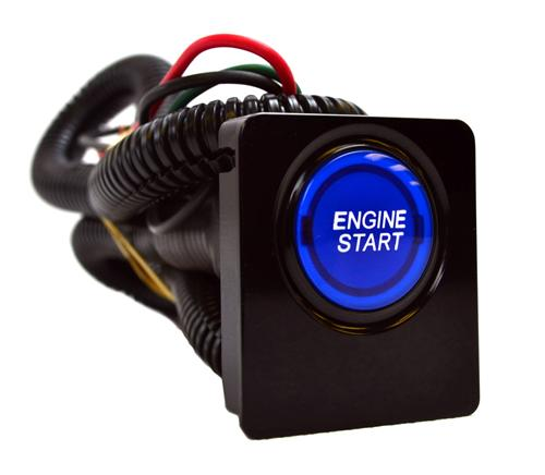 SHR Mustang Illuminated Push Button Start Kit (10-14)