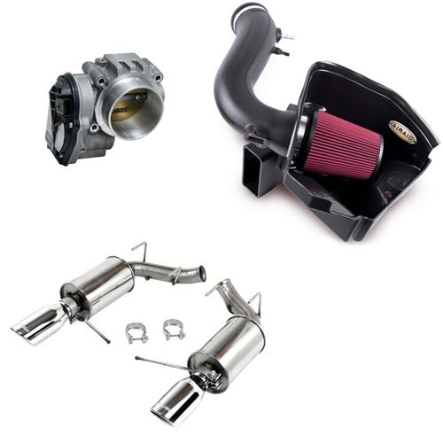 2011-14 Mustang V6 Stage 1 Power Pack Kit. No Tune Required  Aid-451265, BBK-1822, RSh-421145 - Picture of 2011-14 Mustang V6 Stage 1 Power Pack Kit.