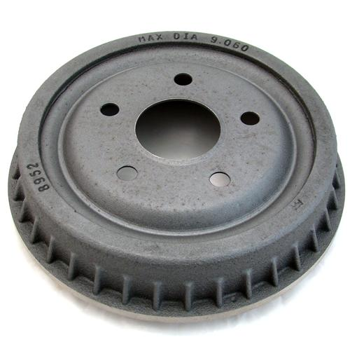 Mustang Mustang Finned 5-Lug Rear Brake Drum (79-93)