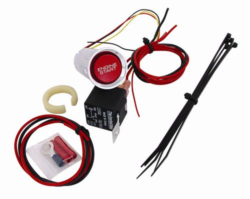 Mustang SVE Push Button Start Ignition Kit (05-09)