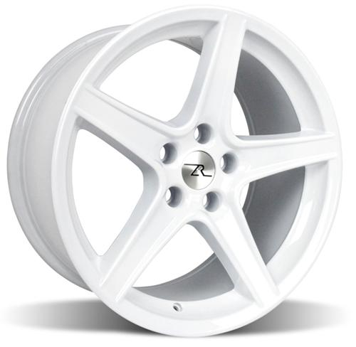 "1994-04 Mustang Saleen Wheel White 18x10 Offset +22 Backspace 6.37"" - Picture of 1994-04 Mustang Saleen Wheel White 18x10 Offset +22 Backspace 6.37"""