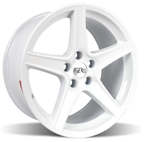 "1994-04 Mustang Saleen Wheel 18x9 White Offset +24mm backspace 5.95"" - Picture of 1994-04 Mustang Saleen Wheel 18x9 White Offset +24mm backspace 5.95"""