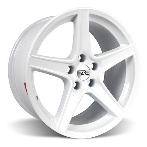 Mustang Saleen Wheel - 18x9  White (94-04) - Mustang Saleen Wheel - 18x9  White (94-04)