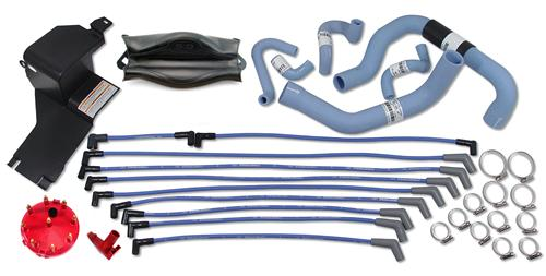 Ford Racing Mustang Underhood Resto Kit Blue (86-93)