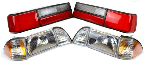 87-93 Mustang Headlight & LX T