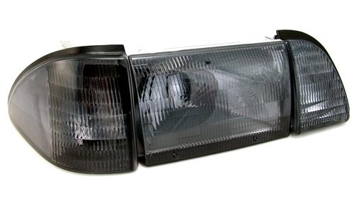 Mustang Smoked Headlight Kit (87-93)