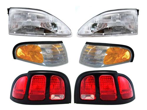 1996-98 FORD MUSTANG HEADLIGHT