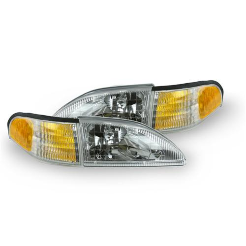 94-98 MUSTANG COBRA HEADLIGHT