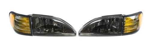 Mustang Cobra Smoked Headlight Kit (94-98)