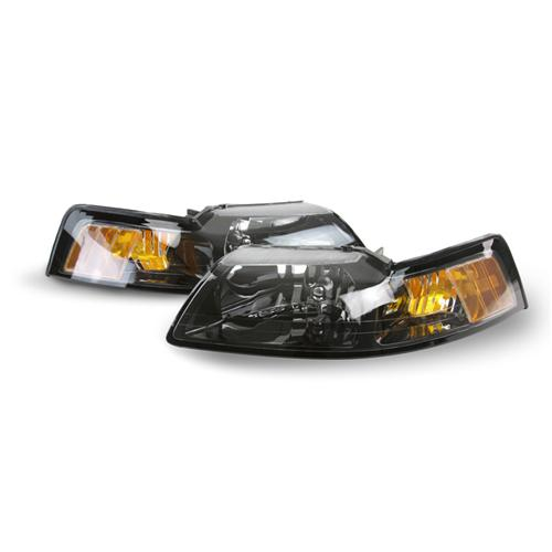 2001-04 Ford Mustang Tinted Headlights