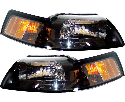 SVE Mustang Factory Tinted Headlight Kit (01-04)