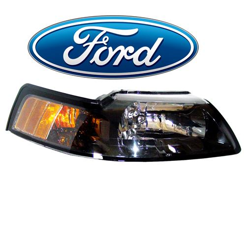 Mustang OE Headlight, RH (01-04) 3R3Z-13008-CA