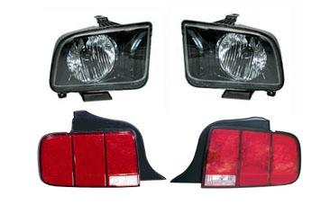 SVE Mustang Headlight & Taillight Kit (05-09)