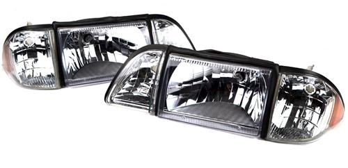 SVE Mustang Headlight Kit, Ultra Clear (87-93)