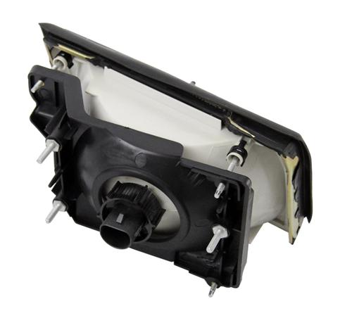 Mustang Ultra Smoked Headlight Kit (87-93) - Picture of Mustang Ultra Smoked Headlight Kit (87-93)