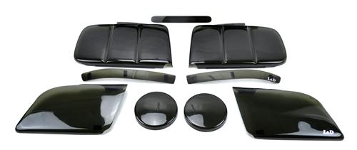 Mustang GT SVE Smoked Light Cover Kit (05-09)