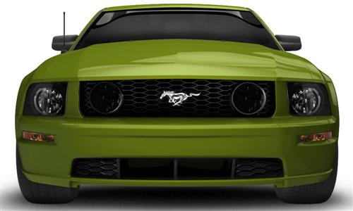 Mustang Smoked Fog Light Covers (05-09) - Mustang Smoked Fog Light Covers (05-09)