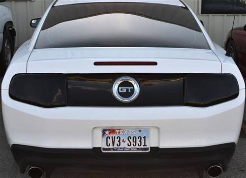 Mustang GT SVE Smoked Light Cover Kit (10-12)