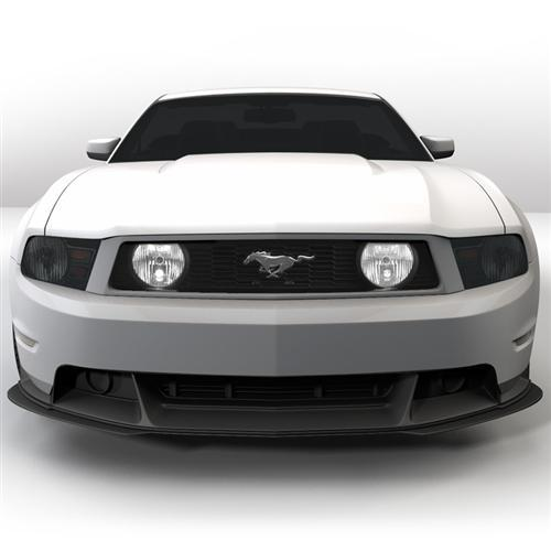 Mustang Smoked Headlight Covers (10-12) - Mustang Smoked Headlight Covers (10-12)