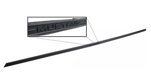 Mustang Logo Rocker Molding Trim Left Hand  (99-04) - Picture of Mustang Logo Rocker Molding Trim Left Hand  (99-04)