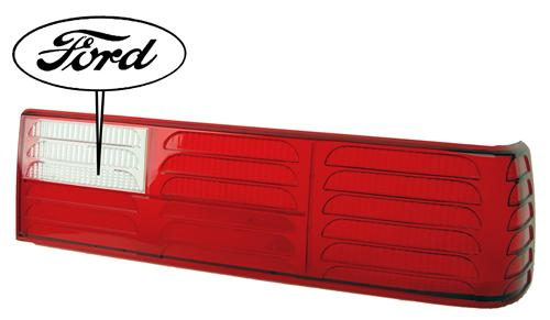 Mustang GT Tail Light Lens RH (87-93)