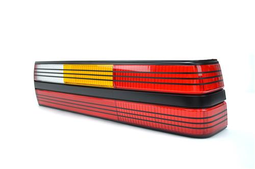 Mustang Tail Light Lens - RH Black (84-84) SVO
