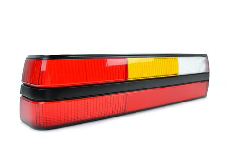 Mustang Tail Light Lens - LH  (83-84)