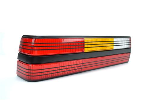 Mustang Tail Light Lens - LH Black (84-84) SVO