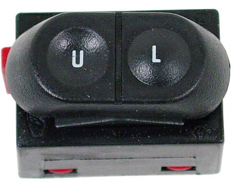 87-93 MUSTANG LH DOOR LOCK SWITCH FOR CARS WITH POWER WINDOWS