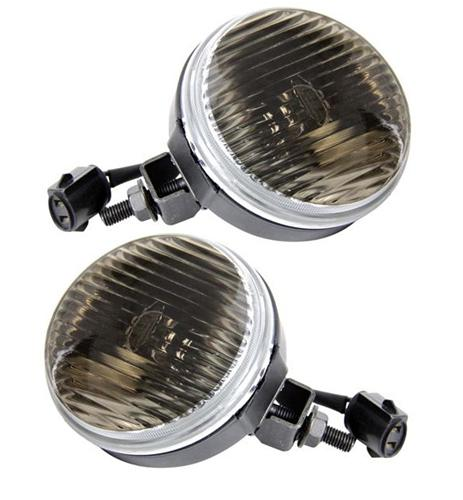 Mustang Smoked Fog Light Kit (87-93) GT - Picture of Mustang Smoked Fog Light Kit (87-93) GT