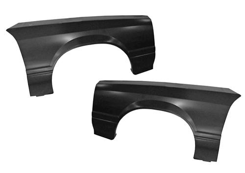 Mustang Front Fender Pair With Out Molding Holes (79-90)