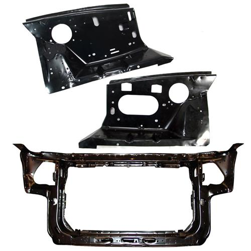 Mustang Radiator Core Support & Fender Apron Kit (83-89)