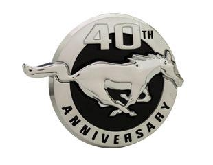 Mustang 40Th Anniversary Fender Emblem Right Hand  (2004)