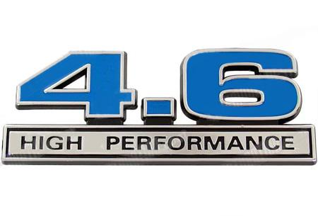 Mustang 4.6L High Performance Emblem Blue  (96-10)