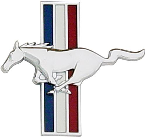 Mustang Running Pony Fender Emblem Badge Left Hand  (94-03)