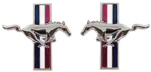 Mustang Running Pony Fender Emblem Kit (79-93)