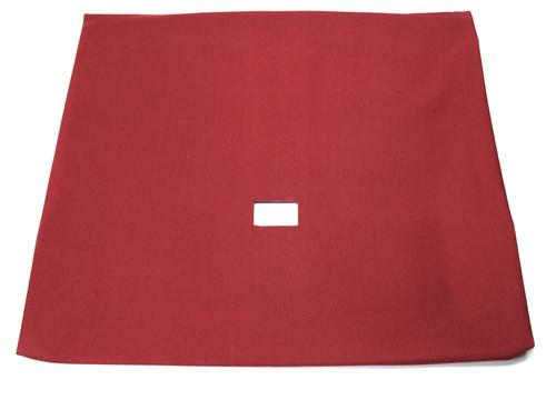 Headliner with Abs Board Scarlet Red Cloth Hatchback with T-Tops - Picture of Headliner with Abs Board Scarlet Red Cloth Hatchback with T-Tops
