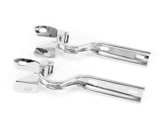 Mustang Hood Hinge Pair Polished Stainless Steel (79-93)